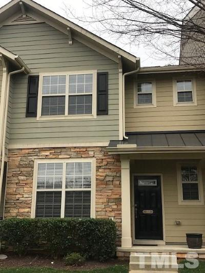 Apex Townhouse For Sale: 104 Tobacco Leaf Lane