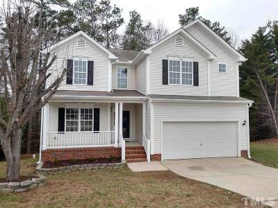 Raleigh Single Family Home For Sale: 6000 Crayford Drive
