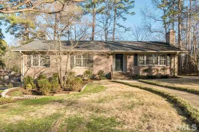 Chapel Hill Single Family Home For Sale: 801 Emory Drive