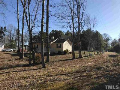 Youngsville NC Single Family Home Pending: $137,000