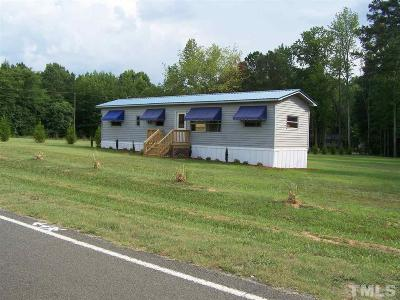 Manson NC Single Family Home For Sale: $74,900