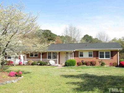 Sanford Single Family Home For Sale: 808 N Franklin Drive