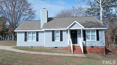 Raleigh Single Family Home For Sale: 3604 Castlegate Drive