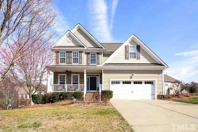 Rolesville Single Family Home Contingent: 542 Misty Willow Way