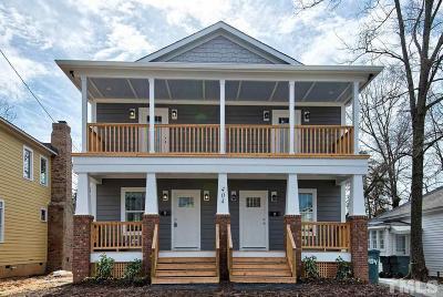 Durham County Condo For Sale: 404 Gray Avenue #A