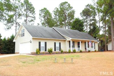 Harnett County Single Family Home For Sale: 370 Sawyer Road