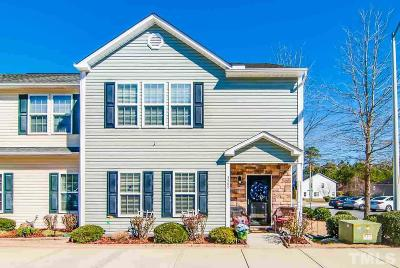 Wake County Townhouse For Sale: 3509 Midway Island Court