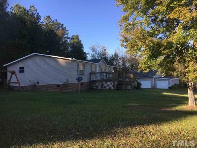 Harnett County Manufactured Home For Sale: 566 Jernigan Lane