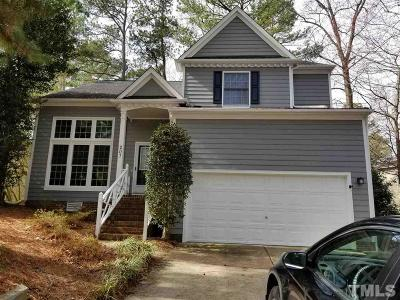 Cary Single Family Home For Sale: 207 Hunters