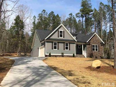 Pittsboro Single Family Home For Sale: 208 Tobacco Road
