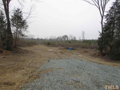 Siler City NC Residential Lots & Land For Sale: $100,000