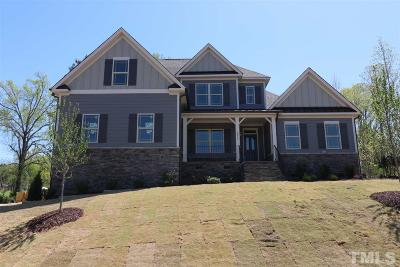 Wake Forest Single Family Home For Sale: 8239 Southmoor Hill Trail #Braxton