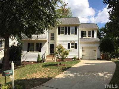 Wake County Rental For Rent: 107 Highfalls Court