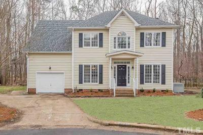 Raleigh Single Family Home For Sale: 8500 Clivedon Drive