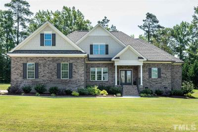 Johnston County Single Family Home For Sale: 75 Grande Overlook Drive