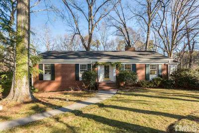 Wake County Single Family Home For Sale: 1108 Glen Eden Drive