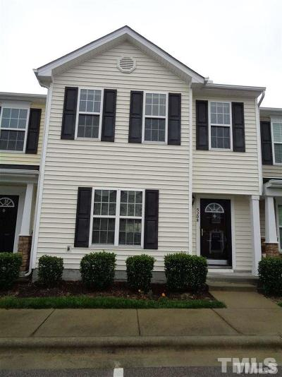 Wake County Rental For Rent: 5208 Blue Lagoon Lane