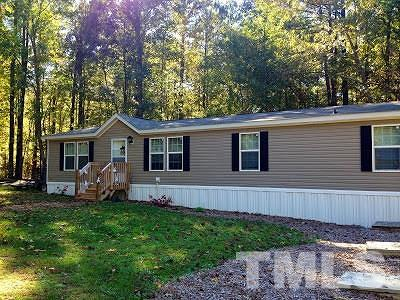 Wake County Manufactured Home For Sale: 4809 Fairfield Road