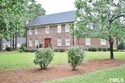 Harnett County Single Family Home For Sale: 107 Ashley Lane