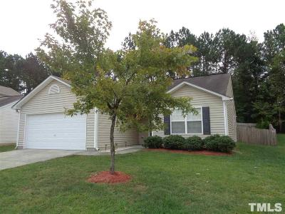 Wake County Rental For Rent: 4124 Taylor Oaks Drive