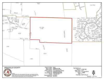 Creedmoor Residential Lots & Land For Sale: Bowman Road