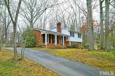 Chapel Hill Single Family Home For Sale: 625 Tinkerbell Road