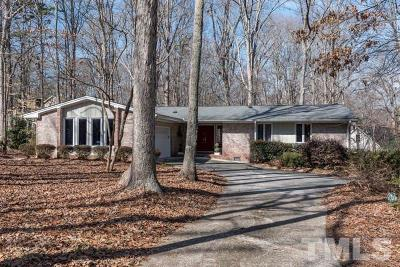 Cary Single Family Home For Sale: 1309 Huntwood Lane