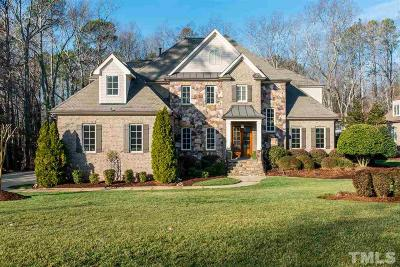 Raleigh NC Single Family Home For Sale: $925,000