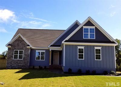 Raleigh NC Single Family Home For Sale: $345,750