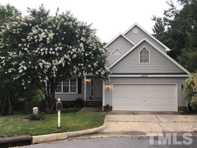 Raleigh Rental For Rent: 4709 Somerton Place