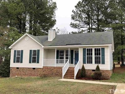 Raleigh Single Family Home Pending: 2108 Ruddy Road