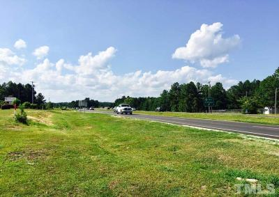 Harnett County Commercial Lots & Land For Sale: Nc 24 87 Highway