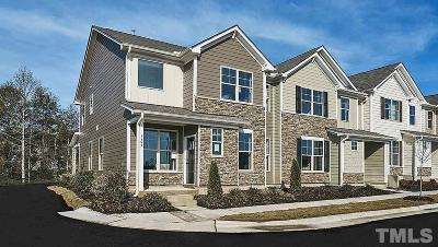 Wake Forest Townhouse For Sale: 825 Sunshade Creek Drive
