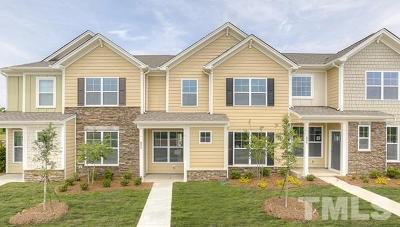 Wake Forest Townhouse For Sale: 829 Sunshade Creek Drive