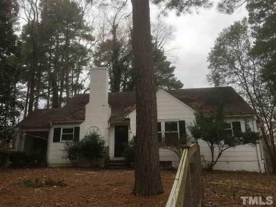 Chapel Hill Single Family Home For Sale: 1111 E Franklin Street East