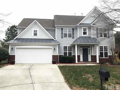 Raleigh Single Family Home For Sale: 5409 Glass Ridge Road