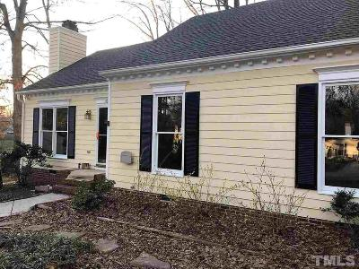 Knightdale Single Family Home Contingent: 107 Chestnut Ridge Circle