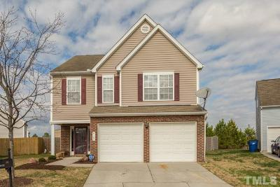 Raleigh Single Family Home Contingent: 4107 Triana Court