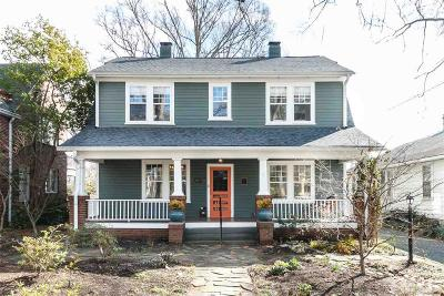 Durham Single Family Home Contingent: 1104 Iredell Street