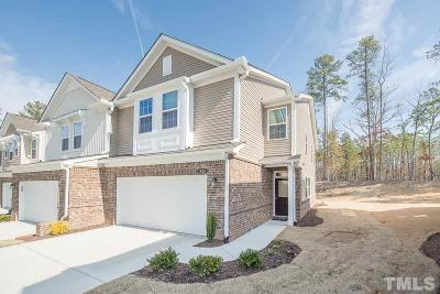 Wake County Townhouse For Sale: 1626 Cary Reserve Drive