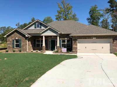 Harnett County Single Family Home For Sale: 10 Woodwater Circle