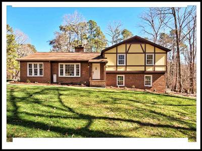 Durham Single Family Home For Sale: 5122 Pineway Drive