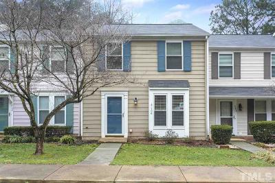 Cary Townhouse For Sale: 106 Candytuff Court