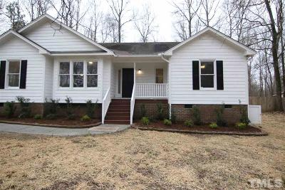 Clayton Single Family Home For Sale: 147 Shady Meadows Lane