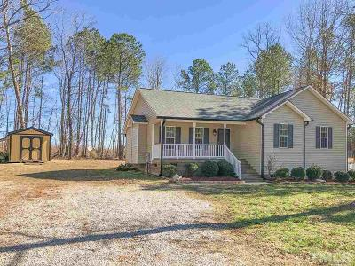 Clayton Single Family Home For Sale: 691 Lockwood Drive