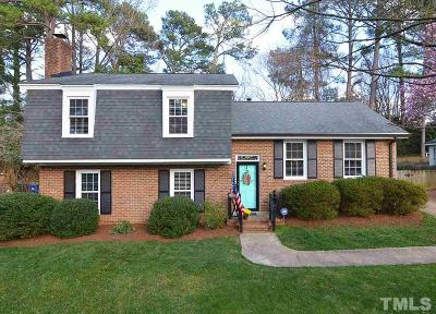 Raleigh Single Family Home For Sale: 5104 Cedarwood Drive