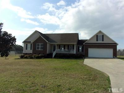Harnett County Single Family Home For Sale: 218 Fred McLeod Lane
