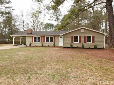 Raleigh Single Family Home Contingent: 1712 Riverview Road