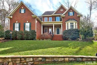 Wake Forest Single Family Home For Sale: 1601 Wildhurst Lane