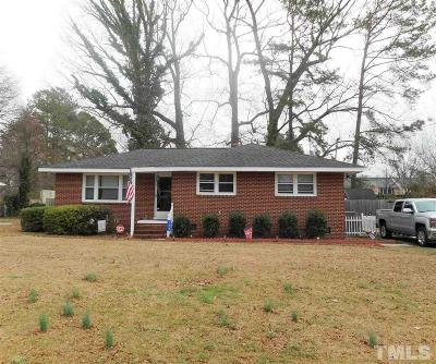 Johnston County Single Family Home For Sale: 723 S Second Street